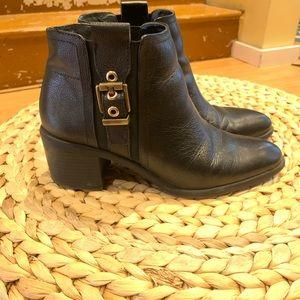 Franco Sarto buckle Chelsea Boots